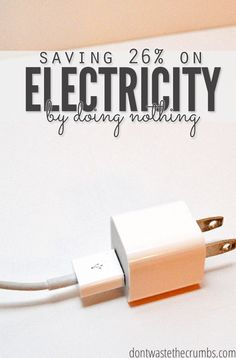 An easy way to save money One of my favorite budget tips - we saved 26% on electricy with this one trick! Tried and true money saving idea that's kept our utility bill low even years later! :: DontWastetheCrumbs.com Saving Money #SaveMoney Saving Money Ideas