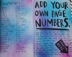 how to add page numbers from page 3