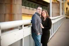 Downtown Pittsburgh Engagement Session - Kristin Firewicz Photography