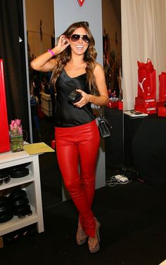 Audrina Patridge American Music Awards Gifting Lounge November 19 2011