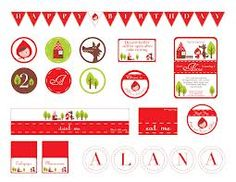Little Red Riding Hood party - Buscar con Google