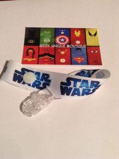 Star Wars Baby Boy Girl Geek Dummy Clip