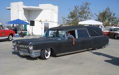 Cadillac Hearse Low Rider