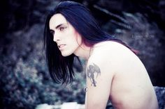 goth gothic hot sexy male w/ long hair Gorgeous Men, Beautiful People, Perfect People, Gothic Men, Goth Guys, Gothic Makeup, Long Locks, Thing 1, Attractive People