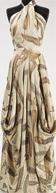 Evening dress, Charles James, 1936