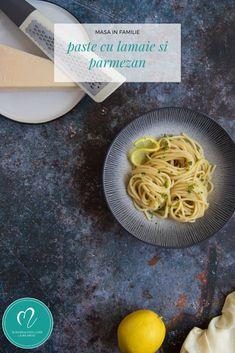 Cele mai simple paste, aromate cu usturoi, lămâie și parmezan Parmezan, Paste, Mai, Recipes, Recipies, Ripped Recipes, Recipe