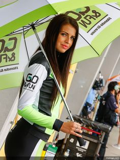 Go&Fun moto Gp Umbrella girl