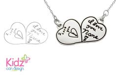 Have your child's artwork transformed into sterling silver jewelry at kidzcandesign.com !