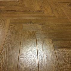 smoked oak laminate herringbone parquet flooring at Floor Monster. Perfect for every modern home. Hall Flooring, Parquet Flooring, Hardwood Floors, Herringbone Laminate Flooring, Hallway Decorating, Stairs, Smoke, Natural, Garden