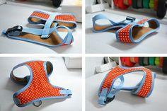 DIY Hundegeschirr aus Stoff selbst nähen - Softgeschirr Nähanleitung