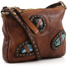 Campomaggi Lavata Shoulder Bag Leather cognac 21 cm - C1288VL-1702 | Designer Brands :: wardow.com