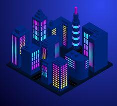 Video Tutorial: Isometric City Illustration in Adobe Illustrator Graphic Design Software, Graphic Design Tutorials, Graphic Design Typography, Packaging Design Inspiration, Graphic Design Inspiration, Isometric Art, Adobe Illustrator Tutorials, City Illustration, City Scene