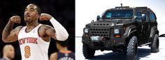 Probabilmente a J.R. Smith, stella dei N.Y. Knicks, non piace passare inosservato: sarà per questo che ha acquistato un carrarmato blindato da 337 mila euro?  Read more --> http://giornalemotori.it/80707/il-tank-di-j-r-smith