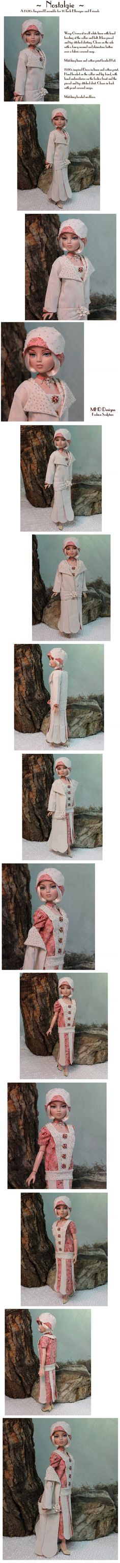 """New MHD auction, """"Nostalgie"""" outfit.. Sold 9/23/13 for $202.50."""
