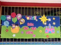 periódico mural de abril School Murals, Class Decoration, Mom Day, Pre School, Classroom Decor, Decor Crafts, Homeschool, Crafts For Kids, Projects To Try