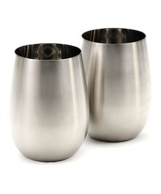 Stainless Steel Stemless Wineglass