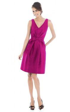 Best Fuchsia Bridesmaid Dress BNNAJ0131-Bridesmaid UK