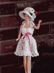 Hat Full of Flowers and Summer Dress  http://web.archive.org/web/20050311023408/http:/abcentral.topcities.com/patterns/hatflwr.htm