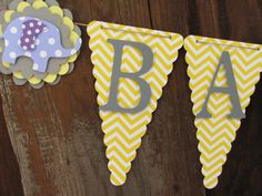Maybe say its a girl/boy instead Baby Shower Banner Baby Shower Decorations by twogirlspaperdesign, $26.00