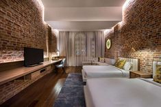 """Hotel boutique """"Loke Thye Kee Residences"""", Penang, Malasia - Ministry of Design Wallpaper Magazine, Geometric Tiles, Design Furniture, Design Awards, A Boutique, Boutique Hotels, Decoration, New Homes, Interior Design"""