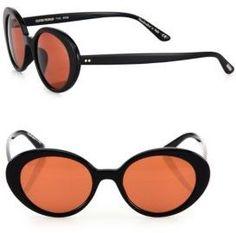 c48b90f34b1 OLIVER PEOPLES THE ROW Parquet 50MM Oval Sunglasses Lunettes De Soleil