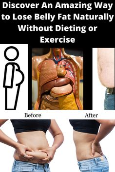 Discover how to lose belly fat naturally without starving yourself or starting a daily exercise routine. #weightloss #fixbellyfat #loseweightnaturally