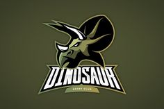 Dinosaur mascot sport logo design by provector on Mascot Design, Badge Design, Logo Design, Sports Team Logos, Sports Teams, Sports Illustrated Covers, Basketball Posters, Logo Concept, Dinosaurs