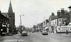 Stockport Road, Levenshulme where I live. Manchester Uk, Good Old, Back In The Day, One And Only, New Wave, Monochrome, Street View, England, Waves