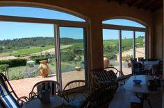 Modern 3-bedroom house with conservatory on 1.2 acres of garden in Villeneuve-Minervois, Aude, Languedoc.  €339,200/£272,462