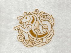 Celtic Horses Machine Embroidery Designs http://www.designsbysick.com/details/celtichorse