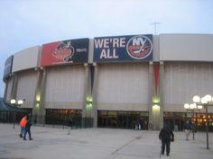 Nassau Coliseum, Home of the NY Islanders. Jones Beach Long Island, Long Island Ny, East Meadow, Nassau Coliseum, West Islip, Usa Holidays, Sports Stadium, New York Islanders, Island Girl
