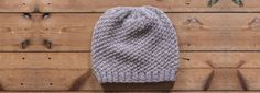 Mr Slouchy Beanie Hat Knitting Pattern