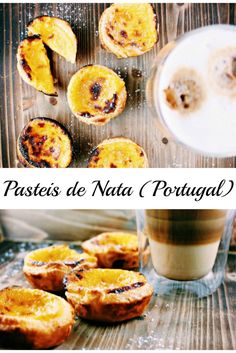 Pastéis de Nata Rezept: Puddingtörtchen aus Portugal #PasteisdeNata #PasteldeNata #Rezept #recipe #Backen #bake #Portugal