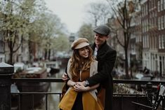 Sanne & Melchior - Amsterdam Engagement Session - Antler Projects