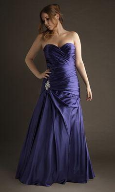 Femme Forte Robe de Soiree Longue Grande Taille Bustier RUC095