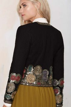 Maison Scotch Whitley Embroidered Jacket - Jackets