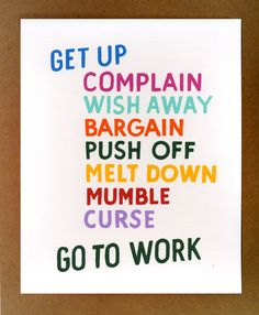 Image of Get Up, Go to Work