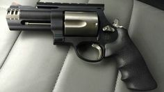 Smith & wesson 500 Magnum after ROBAR was finished with it. Find our speedloader now! http://www.amazon.com/shops/raeind