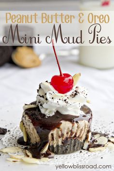 My favorite indulgent dessert of all time is Mud Pie. There are many ways to make it, but the best ones always have peanut butter. Sweet, indulgent, peanut buttery and chocolate rich. Oreos and peanut butter make up the decadent base, followed by layers of thick fudge and Creamy Mud Pie Ice Cream. Topped with …