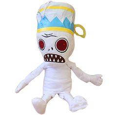 CHA HUA Plants Vs Zombies II Buckethead Mummy Zombie Plush Toy @ niftywarehouse.com