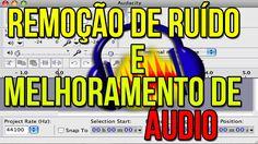 Tutorial | Como remover os RUÍDOS e MELHORAR o áudio no Audacity ?!