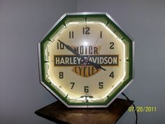 Vintage Best Paint Sold Advertising Clock Bps Lighted Neon