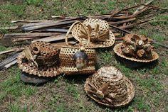 Artesanías tradicionales Anua Rapa Nui, Isla de Pascua: Artesanía en hoja de…