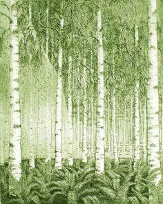 Alkusoitto - Prelude. Leena Talvitie, 2006. Printmaking, etching, aquatint.