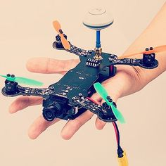 MoreDrone by Unmanned Tech           - X160 micro fpv quadcopter on a rather wierd...