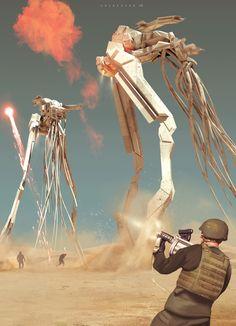 border patrol wranglers by col price | Sci-Fi | 2D | CGSociety