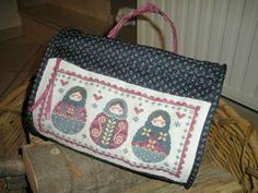Le sac rond aux matriochkas