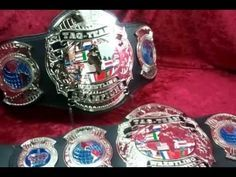 Pacific Northwest Portland Pro Wrestling Tag Team Titles  | Top Rope Belts