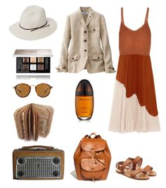 """""""Chic safari🐆"""" by valelondon ❤ liked on Polyvore featuring Jason Wu, RED Valentino, Madewell, Uniqlo, Scala, Givenchy, Calvin Klein and Ray-Ban"""