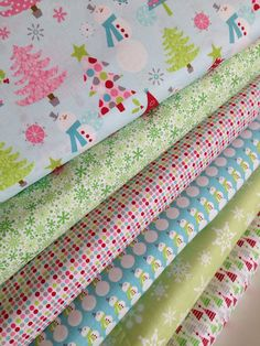 Home for the Holidays fabric bundle by Riley Blake by fabricshoppe